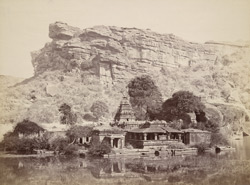 General view of the Bhutanatha group of temples, Badami